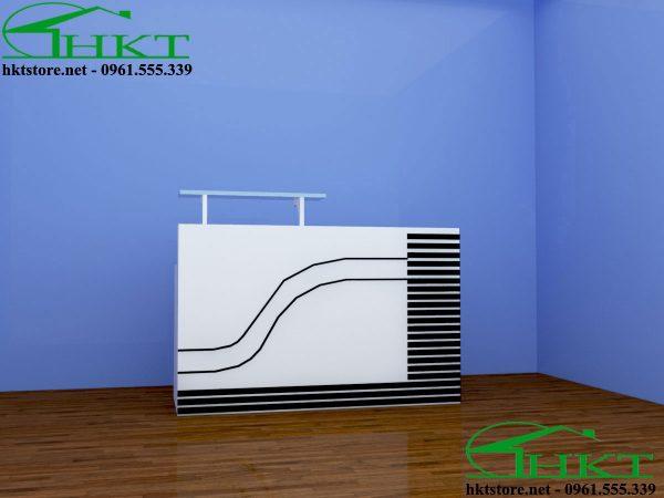 Quay le tan dep QLT1 600x450 - Quầy lễ tân đẹp QLT1