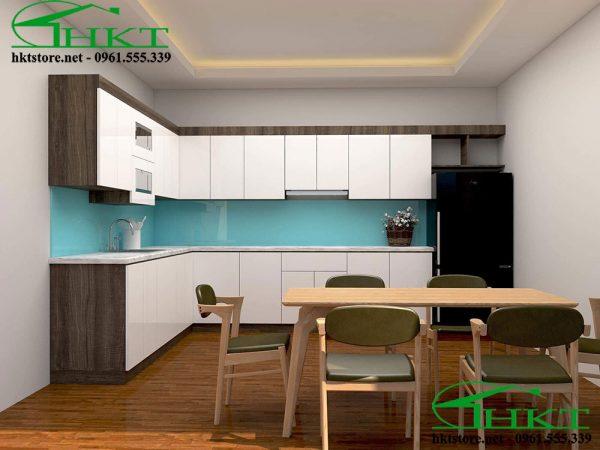 Tủ bếp Acrylic hiện đại TB1