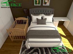 Giường ngủ hiện đại GN1