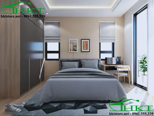 Mẫu phòng ngủ đơn giản hiện đại MPN4