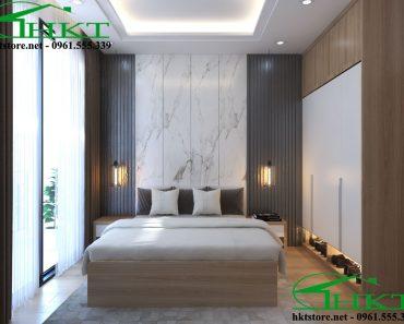 Mẫu phòng ngủ gỗ công nghiệp MPN3