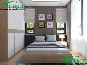 Mẫu phòng ngủ hiện đại giá rẻ MPN5