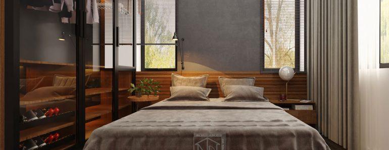Mẫu phòng ngủ hiện đại giá rẻ MPN7