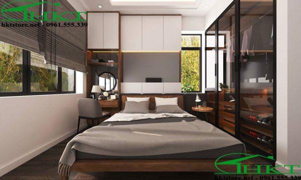 Mẫu phòng ngủ hiện đại sang chảnh MPN6