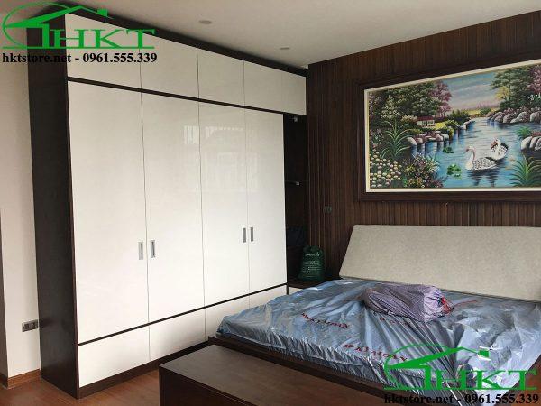 thiet ke noi that phong ngu 600x450 - Báo giá thi công đồ gỗ, nhận thi công nội thất Hà Nội