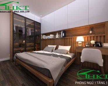 Thiết kế nội thất phòng ngủ 12m2 MPN9
