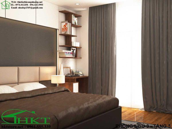 mau phong ngu MPN10 600x450 - Thiết kế nội thất phòng ngủ, báo giá phòng ngủ MPN10