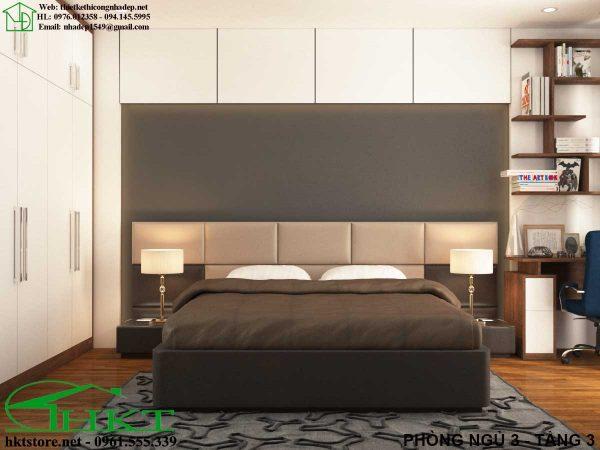 Thiết kế nội thất phòng ngủ MPN10