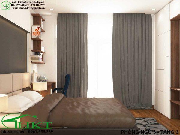 thiet ke phong ngu dep MPN10 600x450 - Thiết kế nội thất phòng ngủ, báo giá phòng ngủ MPN10
