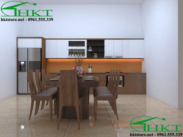thiet ke tu bep hien dai TB20 600x450 - Thiết kế tủ bếp tại Thái Nguyên TB20