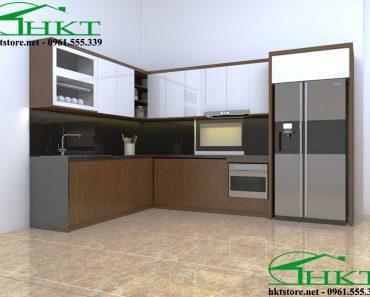 Tủ bếp cánh Acrylic TB20