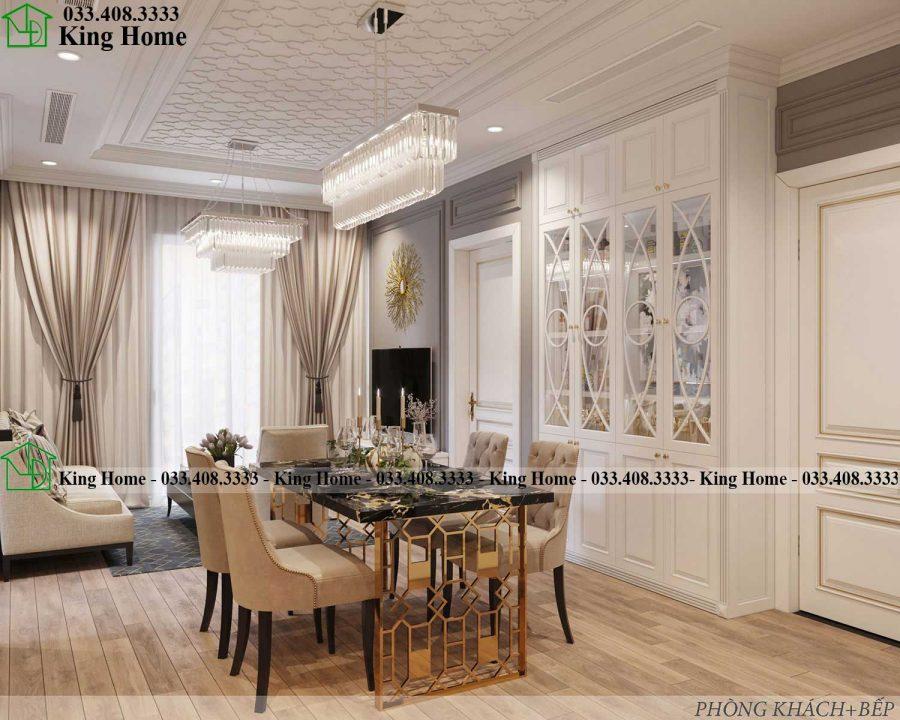 noi that chung cu dep tai Ecopark KHCC1 900x720 - Thiết kế thi công nội thất chung cư tân cổ điển EcoPark KHCC1