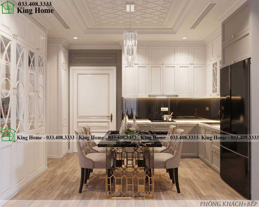 noi that chung cu tan co dien KHCC1 900x720 - Thiết kế thi công nội thất chung cư tân cổ điển EcoPark KHCC1